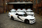 Hot Wheels(R) takes over New York City with a fleet of Star Wars(TM) First Order Stormtrooper(TM) vehicles to celebrate Force Friday.