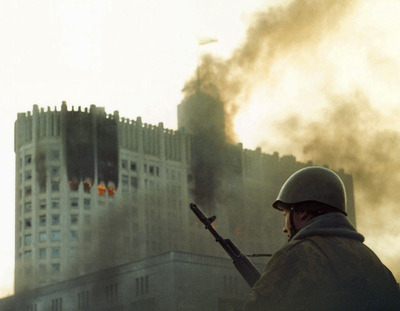 New Voice of Russia documentary marks the 20th anniversary of Russian Constitutional Crisis. (PRNewsFoto/Voice of Russia)