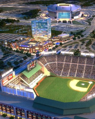 The Cordish Companies have been selected by The Texas Rangers as development partner for Texas Live!, a 100,000 square foot world-class dining and entertainment district, as well as a 300-room hotel and 35,000 square foot convention facility in-between the Texas Rangers' Globe Life Park in Arlington and the Dallas Cowboys' AT&T Stadium