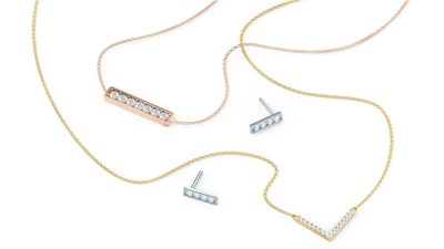 Ada Diamonds' new Delicate Collection. www.adadiamonds.com.