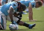 DeAngelo Williams, Carolina Panthers.  (PRNewsFoto/Susan G. Komen Charlotte)