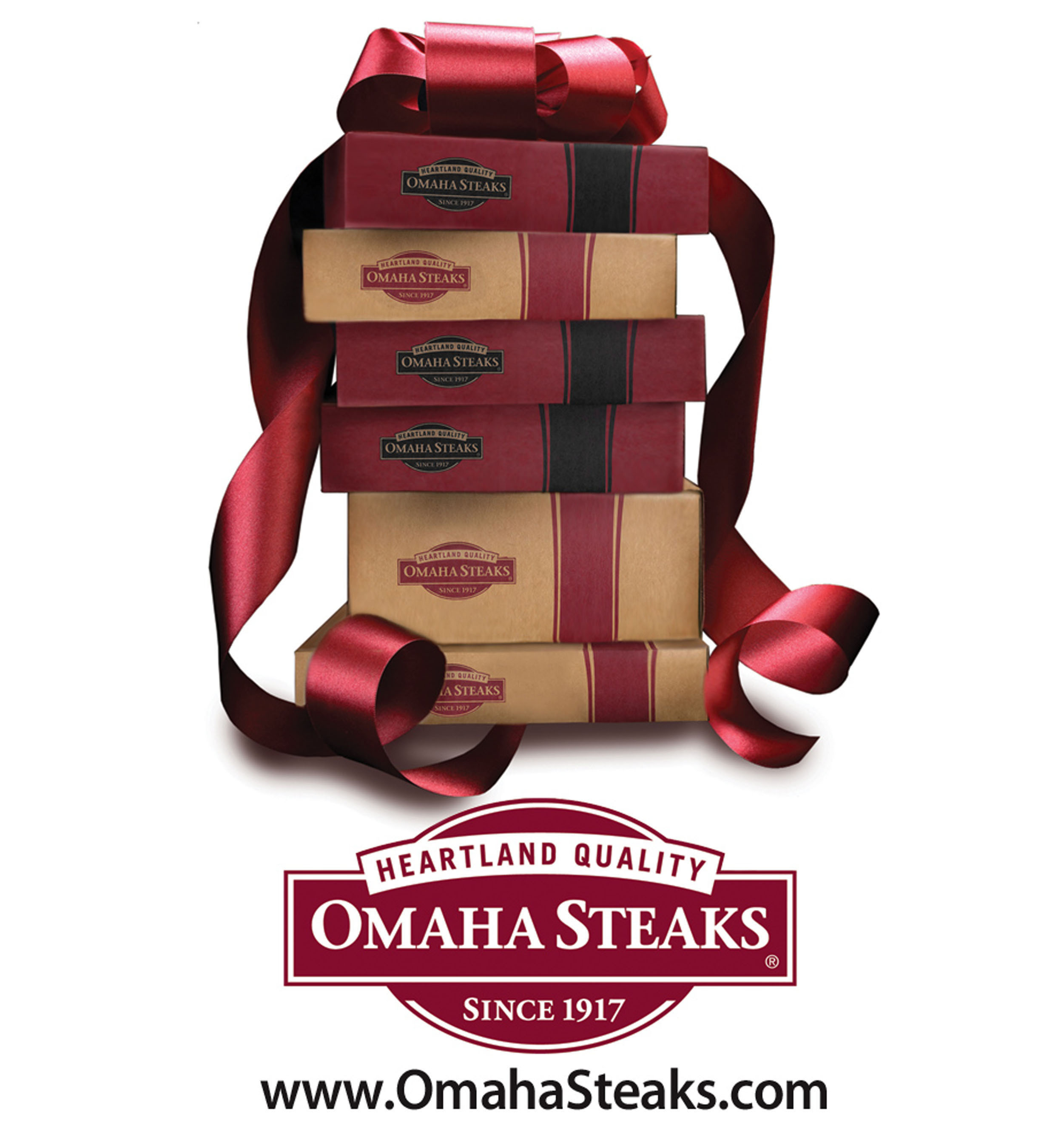 Food is always a top choice for holiday giving as it represents the gift of an occasion and the opportunity to gather with family and friends to celebrate the season.  (PRNewsFoto/Omaha Steaks)