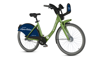 Alaska Airlines announces partnership with Pronto! Emerald City Cycle Share. (PRNewsFoto/Alaska Airlines)
