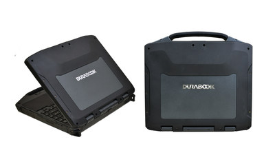 DURABOOK R8300 fully rugged notebook, designed for harsh and extreme environments, has been revamped with a series of advanced features