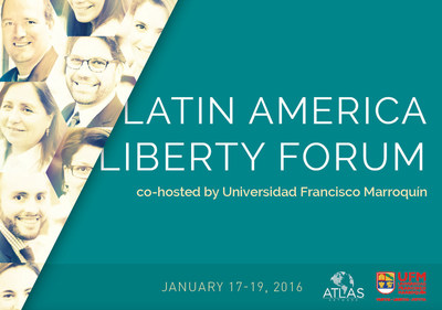 Economic heavy hitters in Guatemala for Latin America Liberty Forum, Jan. 17-19, 2016, at Universidad Francisco Marroquin.