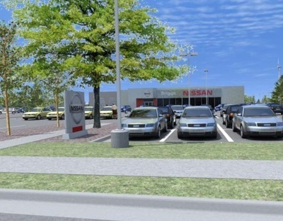 New Briggs Nissan Lawrence Showroom.  (PRNewsFoto/Briggs Nissan Lawrence)