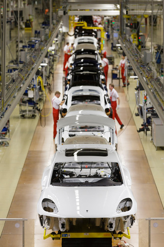 Production start-up for Porsche Macan. (PRNewsFoto/Porsche Cars North America, Inc.) (PRNewsFoto/PORSCHE CARS ...