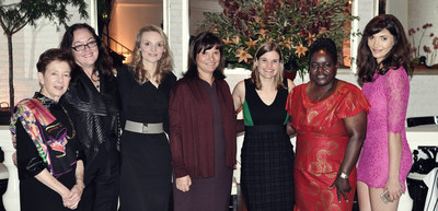 (L-R) Roselyne Swig, Julie Castro Abrams, Alyse Nelson, Barbara Banke, Katie Jackson, Victoria Kisyombe and Julia Jackson attended yesterday's Bay Area Council launch.
