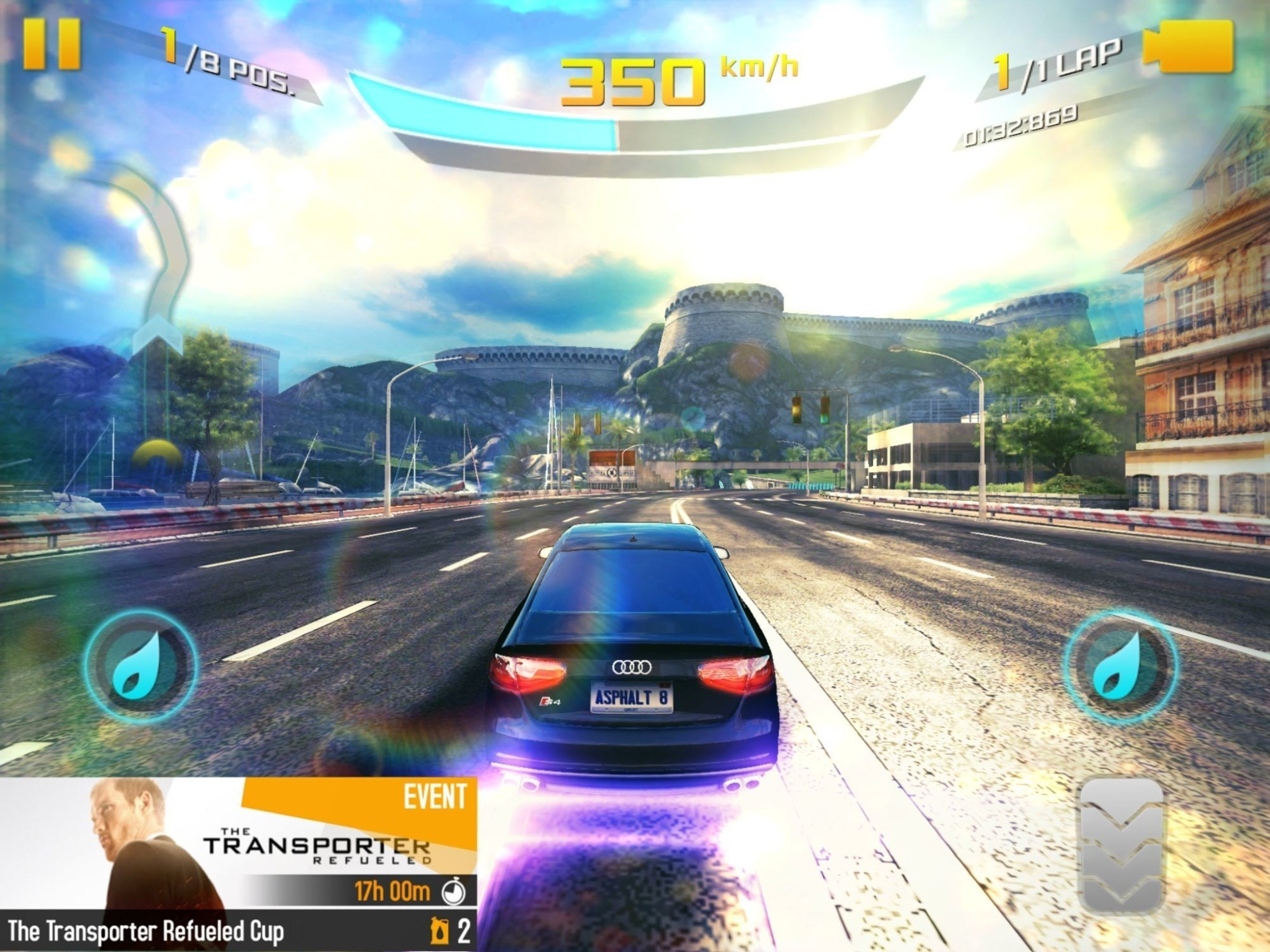 EuropaCorp Promotes The Transporter Refueled With Native Ads in Gameloft's Asphalt 8: Airborne Mobile Game