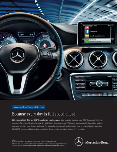 Mercedes Benz Financial Services Raises The Bar Again On Mobile Technology