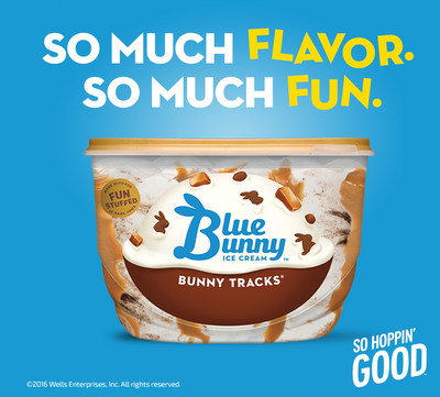 Fun hops into freezers everywhere courtesy of Blue Bunny. #SoHoppinGood