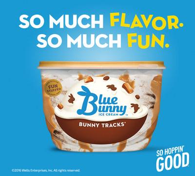 Fun hops into freezers everywhere courtesy of Blue Bunny. #SoHoppinGood
