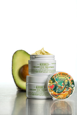 100% of net profits, up to $50,000, from Kiehl's Limited Edition Creamy Eye Treatment with Avocado, featuring art by Nikki Reed and Gabrielle Reece and Laird Hamilton will benefit Recycle Across America(TM). To date, Kiehl's has already raised $300,000 for the non-profit, supplying recycling labels to 4,500 schools.