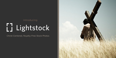 Say Hello! to Lightstock: Faith-Focused, Safe-Searching, Carefully-Curated Photos.  (PRNewsFoto/Lightstock)