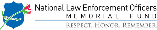 National Law Enforcement Officers Memorial Fund logo.  (PRNewsFoto/National Law Enforcement Museum)