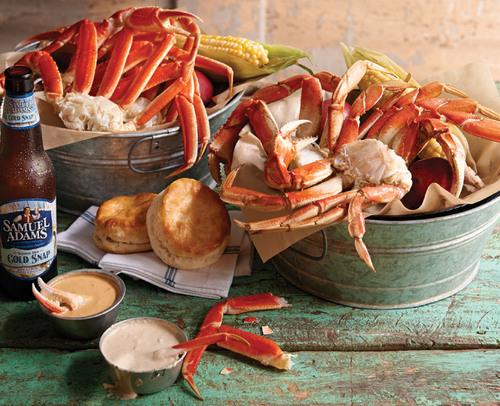 Joe's Crab Shack Dippin' Crab Buckets. (PRNewsFoto/Joe's Crab Shack) (PRNewsFoto/JOE'S CRAB SHACK)
