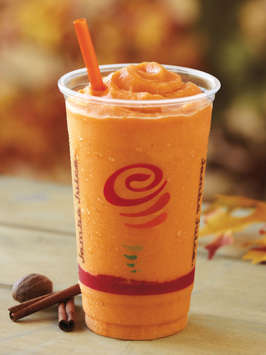 Jamba Juice Celebrates Autumn with the Return of the Popular Pumpkin Smash® Smoothie--Now In Stores for a ...