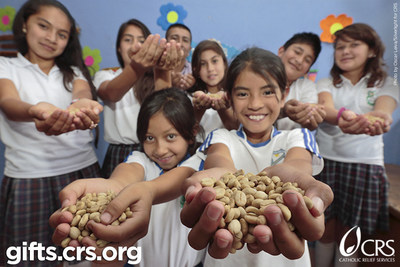 Want to make the world a better place? Give the gift of education to children around the world. Visit gifts.crs.org for more information on what you can give this year.