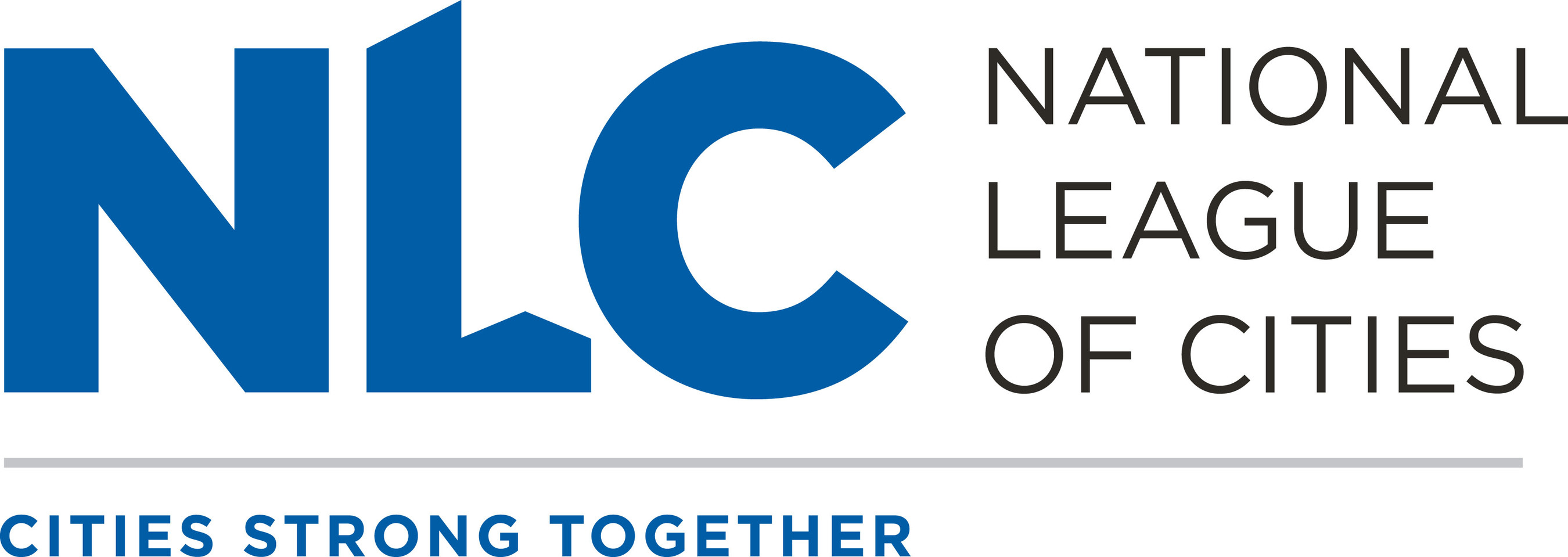 National League of Cities logo.
