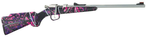 """New for 2014 Henry Mini Bolt """"Muddy Girl"""" edition featuring the Muddy Girl camo pattern. Single-shot ..."""