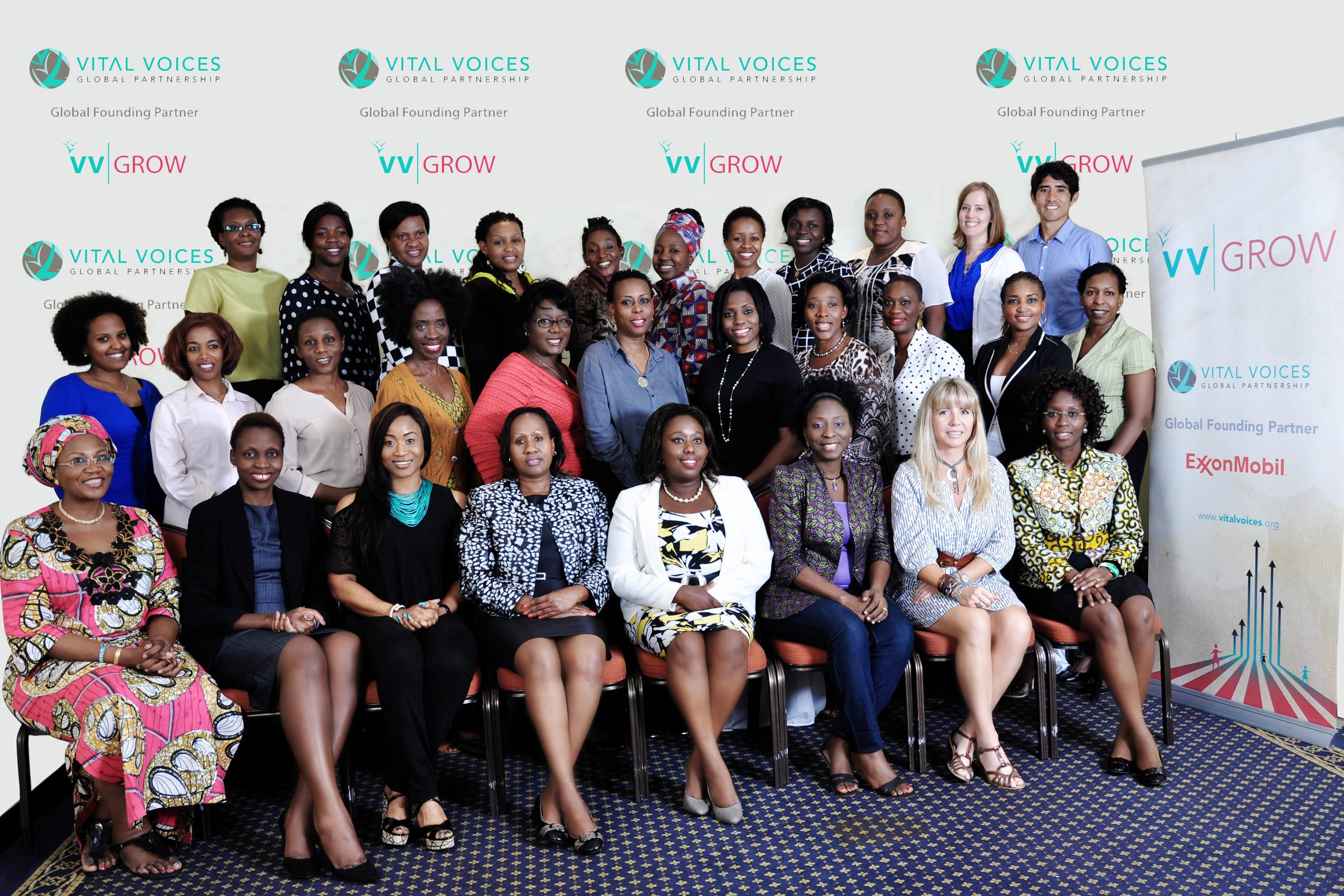Vital Voices organise, avec le soutien de la Fondation ExxonMobil, une semaine de formation en