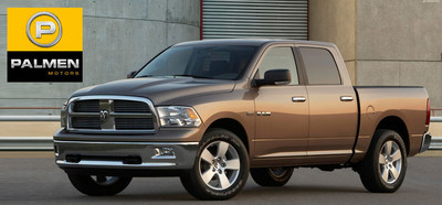 The used Dodge Ram is available at Palmen Motors in Kenosha Wis. (PRNewsFoto/Palmen Motors)