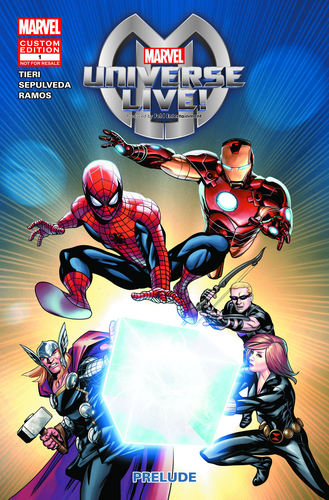 Exclusive Comic Book Prequel for Upcoming Marvel Universe LIVE! Reveals Intriguing Backstory and