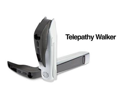 Telepathy Walker's foldable display