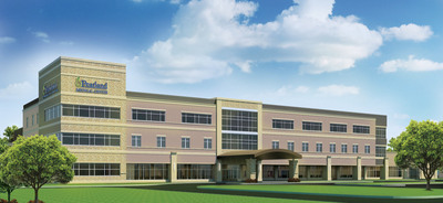 Pearland Medical Center Exterior Rendering.  (PRNewsFoto/HCA Gulf Coast Division)