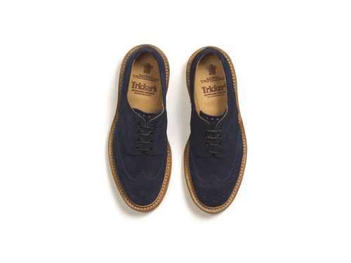 Shoes from Tricker, part of the Jermyn St, St James's showcase supported by The Crown Estate St James's (PRNewsFoto/THE CROWN ESTATE, ST JAMES'S)