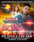 """Spanish Broadcasting System, Inc. (SBS) radio presenta el estreno mundial del ultimo sencillo de J Balvin, """"Bobo"""""""