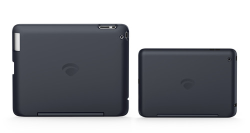 Original ClamCase and ClamCase for iPad Mini.  (PRNewsFoto/ClamCase)