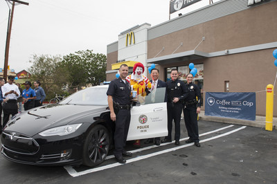 """McDONALD'S AND THE LOS ANGELES POLICE DEPARTMENT KICK-OFF """"COFFEE WITH A COP"""" CITYWIDE INITIATIVE"""