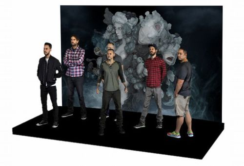 STARAMBAS 3 D Print of Linkin Park Band Members (PRNewsFoto/Social Commerce Group SE)