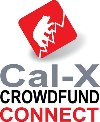 Cal-X Crowdfund Connect Logo.  (PRNewsFoto/Cal-X Crowdfund Connect)