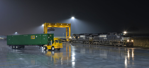Norfolk Southern has opened a new intermodal terminal less than a mile from I-81 near the Pennsylvania/Maryland  ...