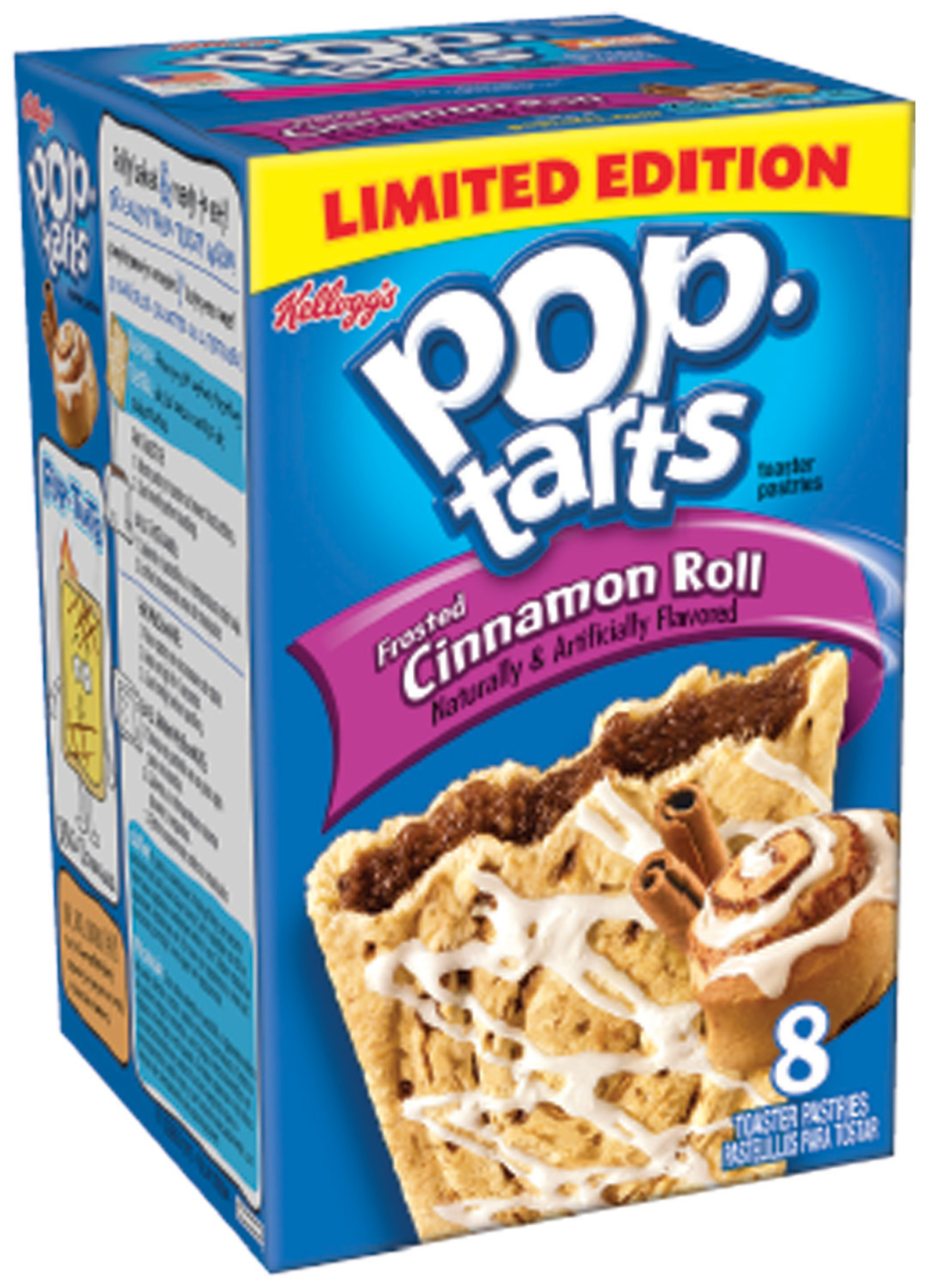 Frosted Cinnamon Roll Pop-Tarts (R)