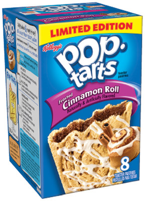 Frosted Cinnamon Roll Pop-Tarts ®