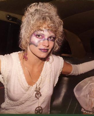 Eve Littlepage in 1984, Video Magic Night, Lansdowne St. Boston, MA