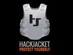 HACKJACKET Vertical Logo - Dark Background (PRNewsFoto/HACKJACKET)
