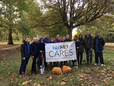 WebMD Cares Impact Day 2016 - WebMD's London team partnered with The Royal Parks Foundation to plant bulbs in Hyde Park.