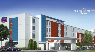 Prototypical SpringHill Suites by Marriott. (PRNewsFoto/Worth Hotels, LLC)