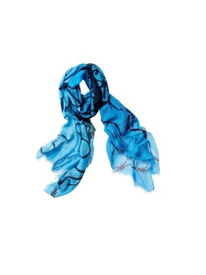Chico's Cerulean Sky Scarf