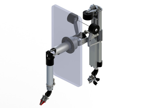 Central Research Laboratories (CRL) introduces G-LDR, a more compact telemanipulator design which enables more flexible and cost-effective installations. (PRNewsFoto/Central Research Laboratories)