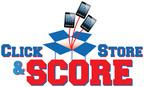 Click, Store & Score Sweepstakes.  (PRNewsFoto/ezStorage Corporation)