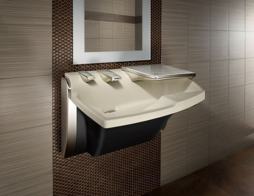 The Bradley Advocate(R) AV-Series Lavatory System's all-in-one design provides the industry's first ...