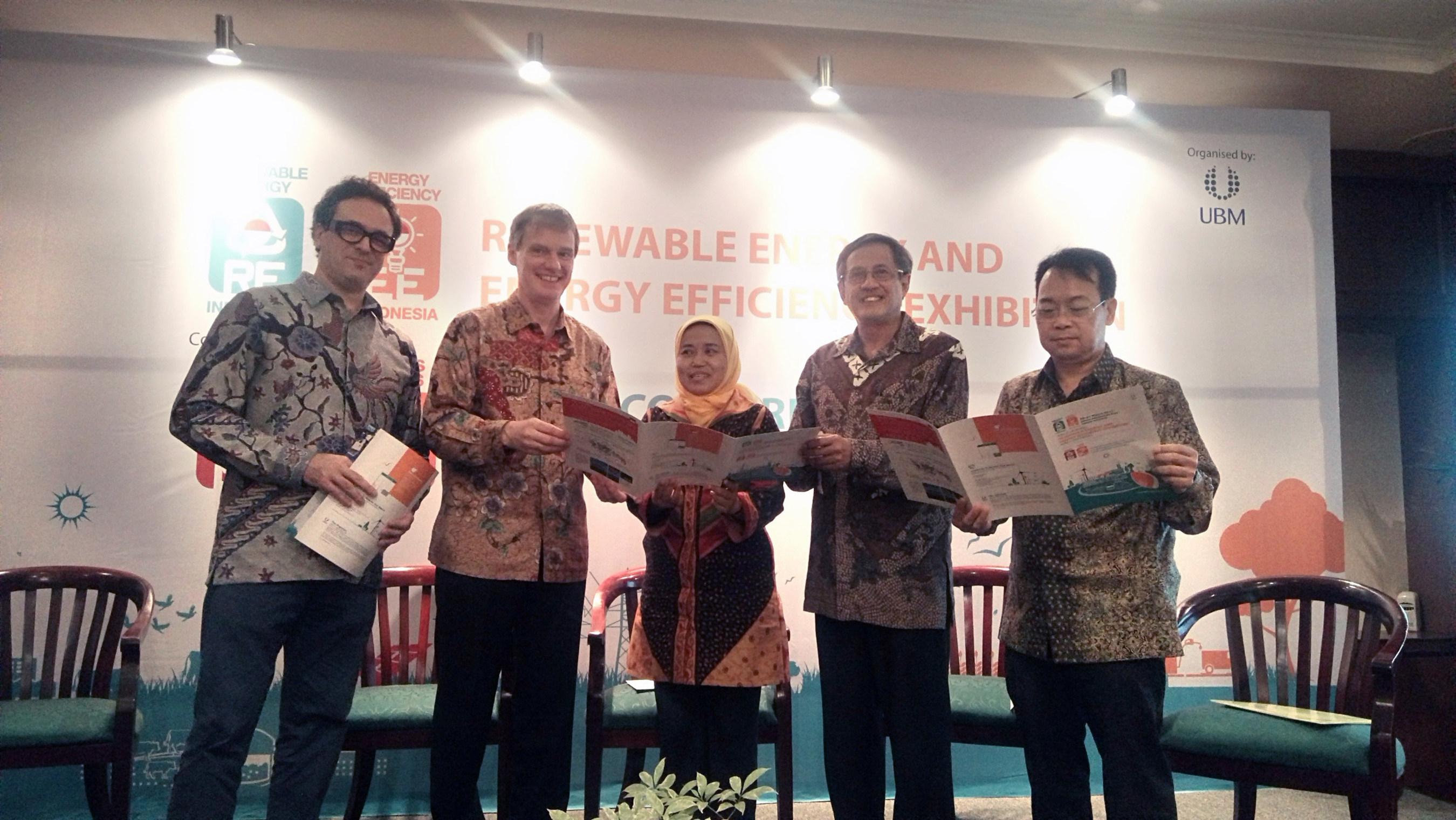 Press Conference – Renewable Energy Indonesia