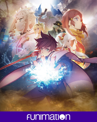 """Tales of Zestiria the X"" key art. Courtesy of Funimation Entertainment."