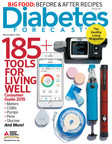 Cover of the March-April issue of Diabetes Forecast magazine