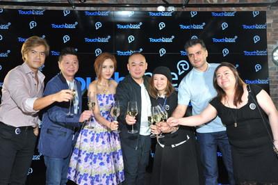 Touchbase Inc. Core Team - Hong Kong Launch Ceremony